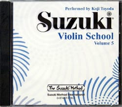Violin School Vol.5 - CD Seul - SUZUKI - Partition - laflutedepan.com