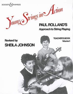 Paul Rolland - Young strings in action, Volume 1 - Teacher's book - Partition - di-arezzo.fr
