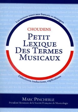 Marc Pincherle - Small lexicon of musical terms - Sheet Music - di-arezzo.com