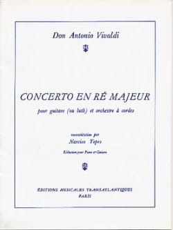 VIVALDI - Concerto in D Major - Guitar and Piano - Sheet Music - di-arezzo.co.uk