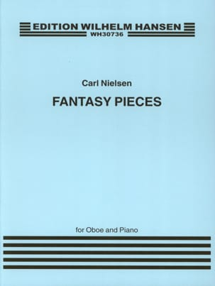 Carl Nielsen - 2 Fantasy pieces op. 2 - Oboe piano - Partition - di-arezzo.fr