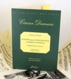 Antonio Vivaldi - Sonates pour violoncelle et basse continue - Partition - di-arezzo.fr