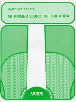 Jorge Martinez Zarate - Mi primer libro de guitarra - Partitura - di-arezzo.es