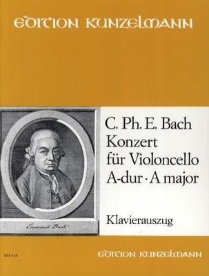 Carl Philipp Emanuel Bach - Concerto en la Majeur - Wq.172 - Partition - di-arezzo.fr