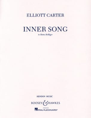 Elliott Carter - Inner Song - Partition - di-arezzo.fr