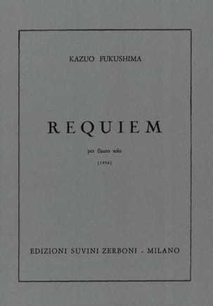 Kazuo Fukushima - Requiem - Solo Flauto - Sheet Music - di-arezzo.co.uk