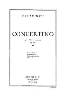 Cécile Chaminade - Concertino Op. 107 - Sheet Music - di-arezzo.co.uk