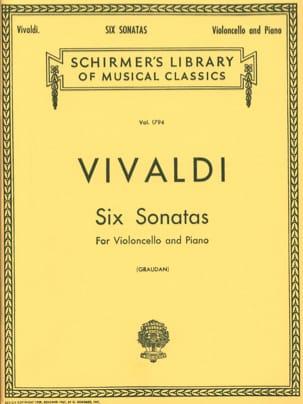 VIVALDI - 6 Sonatas - Cello - Partitura - di-arezzo.es