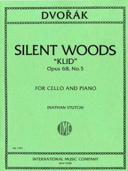 Antonin Dvorak - Silent Woods Klid op. 68 n° 5 - Partition - di-arezzo.fr