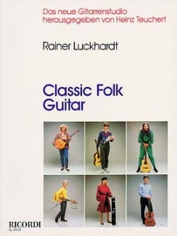 Classic folk guitar - Rainer Luckhardt - Partition - laflutedepan.com