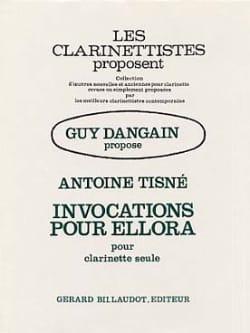 Invocations pour Ellora - Antoine Tisné - Partition - laflutedepan.com
