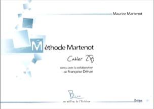 Maurice Martenot - Méthode Martenot - cahier 2B - Partition - di-arezzo.fr