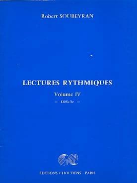 Robert Soubeyran - Rhythmic Readings Volume 4 - Sheet Music - di-arezzo.co.uk