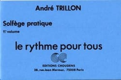 André Trillon - The rhythm for all - Volume 1 - Sheet Music - di-arezzo.co.uk