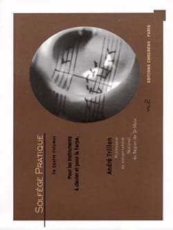 André Trillon - Practical music - Volume 2 - Keyboard and harp - Sheet Music - di-arezzo.co.uk