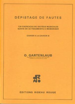 Odette Gartenlaub - Detección de fallas - Partitura - di-arezzo.es