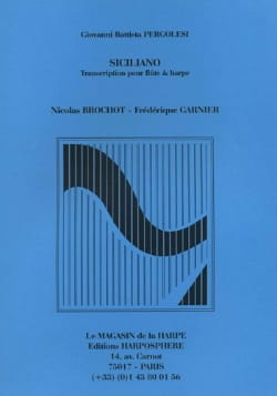 Giovanni Battista Pergolesi - Siciliano - Flute and harp - Sheet Music - di-arezzo.com