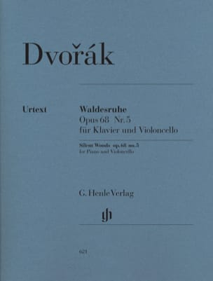 DVORAK - Waldesruhe op. 68 n ° 5 - Sheet Music - di-arezzo.com