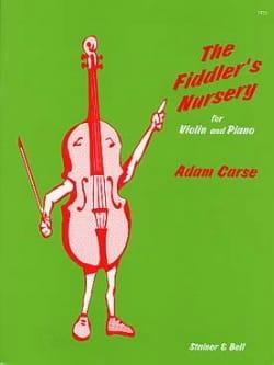 The Fiddler's Nursery Adam Carse Partition Violon - laflutedepan