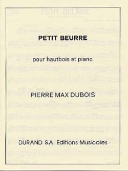 Pierre-Max Dubois - Petit beurre - Partition - di-arezzo.fr