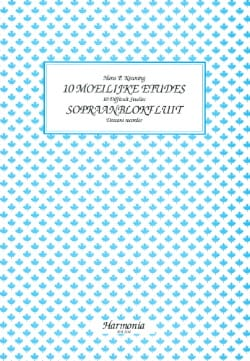Hans P. Keuning - 10 Moeilijke Etudes - Sopraanblokfluit - Sheet Music - di-arezzo.co.uk