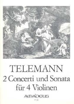2 Concerti Und Sonata Twv40:201,202,203 - TELEMANN - laflutedepan.com