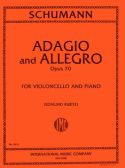 SCHUMANN - Adagio and Allegro op. 70 - Cello - Sheet Music - di-arezzo.com