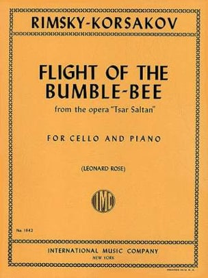 Nicolaï Rimsky-Korsakov - Flight of the bumble-bee - Partition - di-arezzo.fr