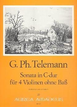 Sonate en Do Maj. Ou Concerto Twv 40:203 TELEMANN laflutedepan