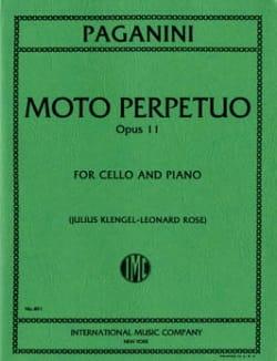 Moto Perpetuo op. 11 - Niccolò Paganini - laflutedepan.com