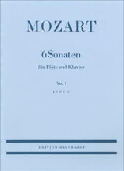 MOZART - 6 Sonaten - Volume 1 : KV 10, 11, 12 – Flöte Klavier - Partition - di-arezzo.fr