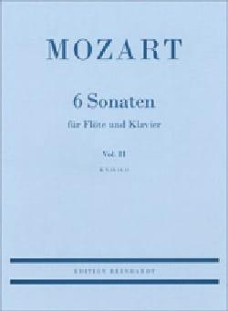 Wolfgang Amadeus Mozart - 6 Sonaten Volume 2 : Kv 13, 14, 15 - Partition - di-arezzo.fr