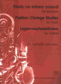 Konstantin Fortunatow - Position change studies - Partition - di-arezzo.fr