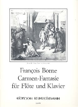 François Borne - Carmen-Fantasy -flute piano - Sheet Music - di-arezzo.co.uk