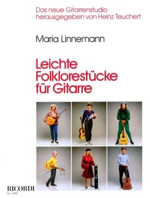 Maria Linnemann - Leichte Folklorestücke für Gitarre - Partition - di-arezzo.fr