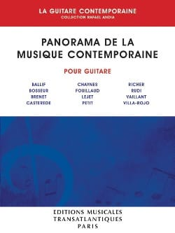 Rafael Andia - Panorama de la Musique Contemporaine Volume 1 - Partition - di-arezzo.fr