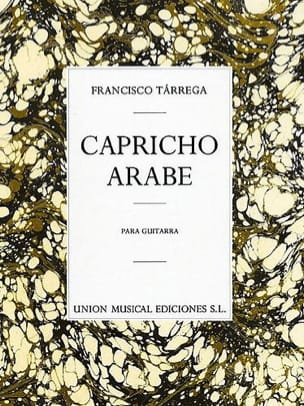 Francisco Tarrega - Arabic Capricho - Sheet Music - di-arezzo.com