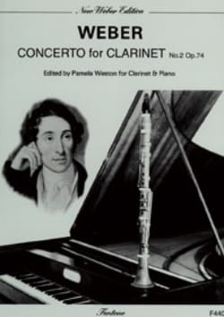 Carl Maria von Weber - Concerto Clarinette n° 2 op. 74 - Partition - di-arezzo.fr
