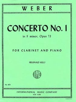 Concerto Clarinet n° 1 in F Minor op. 73 - laflutedepan.com