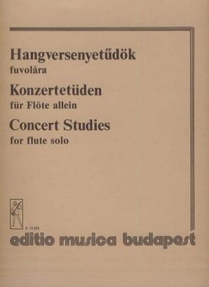 Concert studies - flute solo Partition laflutedepan