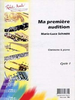 Marie-Luce Schmitt - La mia prima audizione - Partitura - di-arezzo.it
