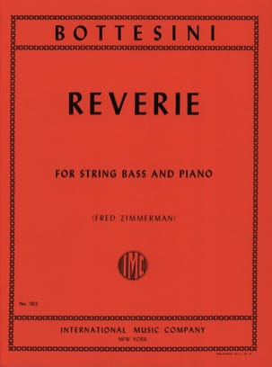 Giovanni Bottesini - Reverie - Sheet Music - di-arezzo.co.uk