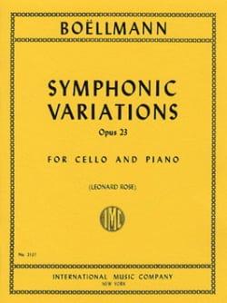 Léon Boëllmann - Symphonic Variations op. 23 - Sheet Music - di-arezzo.co.uk