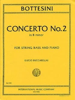 Giovanni Bottesini - Concerto No. 2 in B minor - String bass - Sheet Music - di-arezzo.com