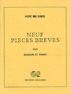 Pierre-Max Dubois - 9 Short pieces - Sheet Music - di-arezzo.com
