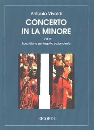 VIVALDI - Concerto in the min. - F. 8 n ° 2 - Bassoon / Piano - Sheet Music - di-arezzo.com