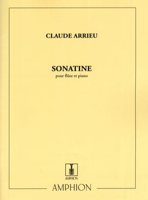 Claude Arrieu - Sonatine - Partitura - di-arezzo.it
