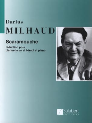 Darius Milhaud - Scaramouche - Clarinet - Partition - di-arezzo.co.uk