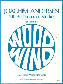 Joachim Andersen - 100 Posthumous Studies - Sheet Music - di-arezzo.co.uk