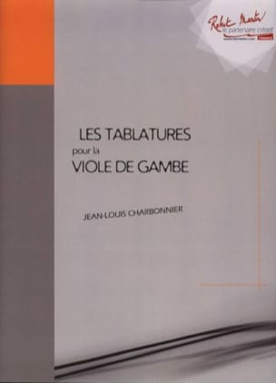 Jean-Louis Charbonnier - Tablature per Viola da Gambe - Partitura - di-arezzo.it